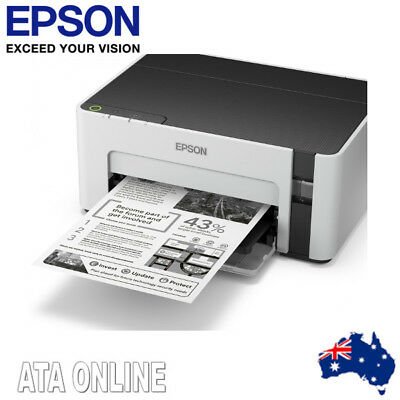 Epson EcoTank ET-M1100 InkJet Printer Register for a 2 Year Wty + $50 Gift Card