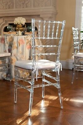200 Ice Chivari Chairs with ivory seatpad for HIRE ONLY