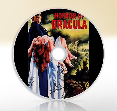 Horror Of Dracula (1958) DVD Classic Horror Movie / Film Christopher Lee