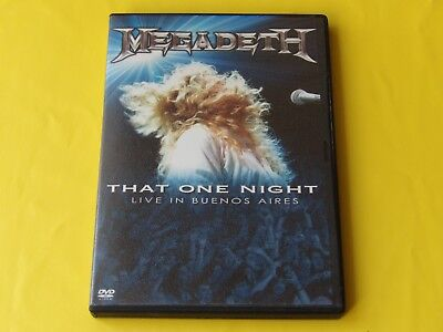 MEGADETH - That One Night: Live In Buenos Aires 2007 / DVD