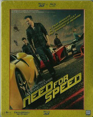 |154817|Need For Speed 3D (Steelbook) (Blu-Ray x 2 Édition Italienne) Neuf