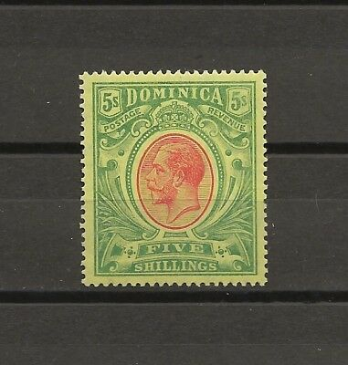 DOMINICA 1914 SG 54 MINT Cat £60