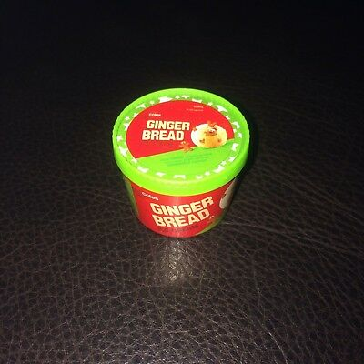 Coles Little Shop Mini Collectables <<>> Christmas Edition Gingerbread Ice Cream