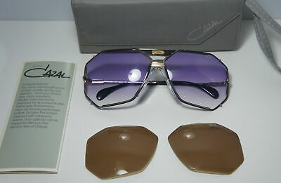1ea061adb89 Vintage Cazal Mod.905 Col.302 Complete Set Sunglasses Made In West Germany