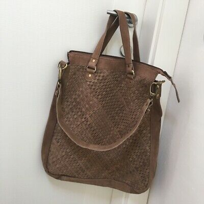 Borsa Shopper Tipo Bottega Veneta Vera Pelle Tortora Tracolla Leather Nuova  Bag 60006362110
