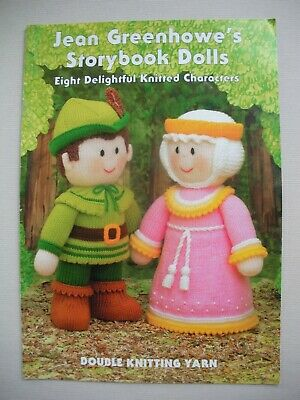 Jean Greenhowes - Storybook Dolls - Toy Knitting Pattern Book