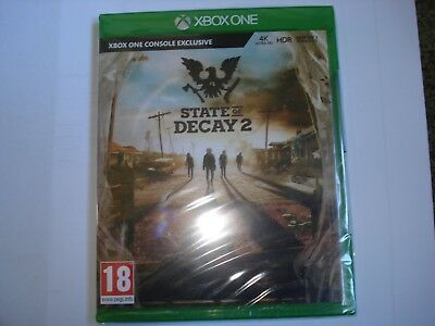 State of Decay 2 XBOX ONE Console Exclusive New and Sealed