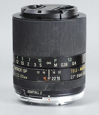 Tamron SP Adaptall 2 90mm F/2.5 BBAR MC Macro 1:2 mount Olympus OM *104376
