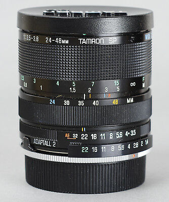 Tamron SP Adaptall 2 BBAR MC 24-48mm F/3.5-3.8 for Leica R *30360