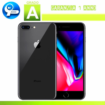 Apple iPhone 8 Plus 64GB Grey - Ricondizionato Certificato (Grado A)