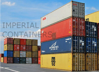 Used Grade A Quality 20ft 40ft Used Shipping Containers LEEDS