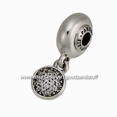 ESSENCE Hope Dangle Authentic Pandora Sterling Silver with CZ Charm 796090CZ