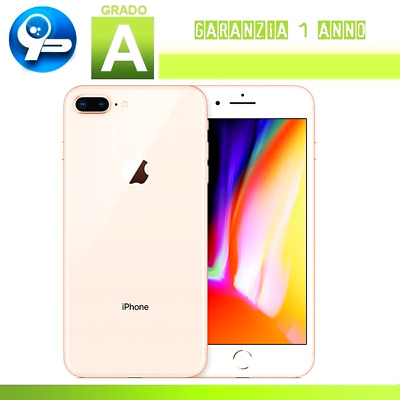 Apple iPhone 8 Plus 64GB Gold - Ricondizionato Certificato (Grado A)