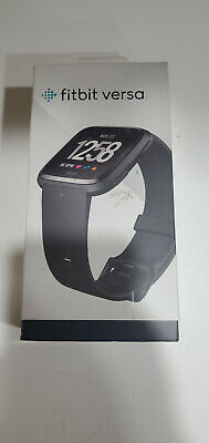 Fitbit Versa Smartwatch with Small & Large Bands Black