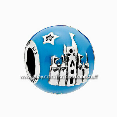 Disney Park Exclusive 2018 Castle Authentic Pandora Silver Charm 796337CZ