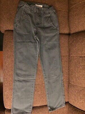 Boys Cherokee Gray Jeans Size 12 Adjustable Waist