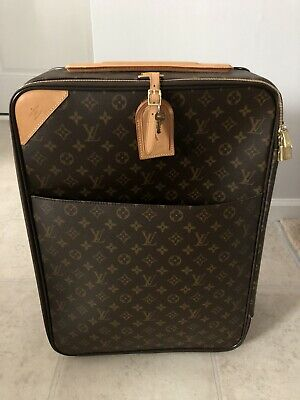 ae25aef78 Louis Vuitton Monogram Pegase 60 Rolling Luggage Brown Weekend/Travel Bag