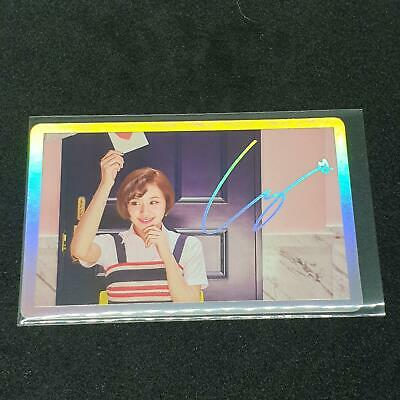 TWICE CHAEYOUNG Official PHOTOCARD Holo SIGNAL 4th Mini Album Photo Card