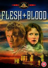 Flesh And Blood Dvd Rutger Hauer Brand New & Factory Sealed