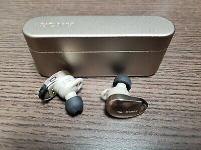 Sony WF-1000X/NM1 Noise Cancelling True Wireless Headphones - Champagne Gold