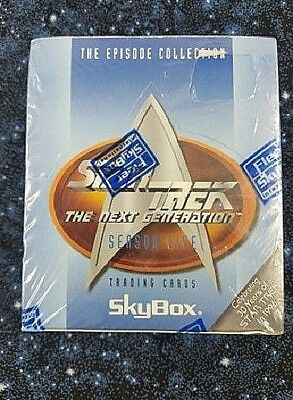 Star Trek The Next Generation Season 5 Skybox Trading Cards Sealed Box /48 Packs