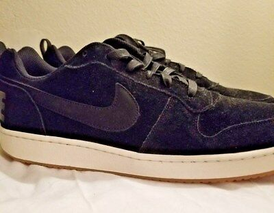 san francisco b6a85 9253e Nike Court Borough Low Recreation Mens Basketball Shoes Black 844881-004  Size 12
