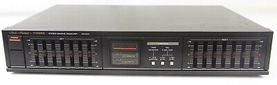 Fisher EQ-870 Studio Standard Stereo Graphic Equalizer EQ TESTED Vintage EB-1206