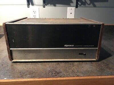DYNACO ST-150 VINTAGE 2 Channel Power Amp Amplifier For PARTS/repair