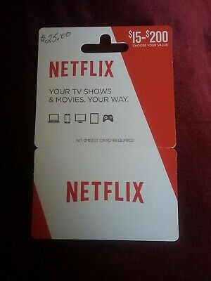 $25 Netflix Gift Card - US only