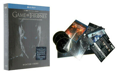 Game of Thrones Season 7 Complete Blu-ray No Digital Fast Shipping US Seller NEW