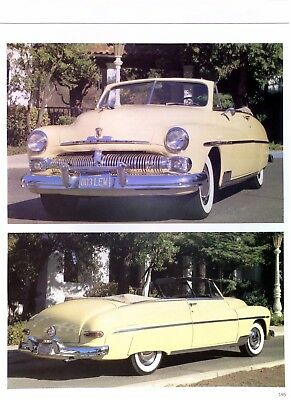 1950 1959 Mercury Sun Valley Park Lane others prices production numbers 14 pages
