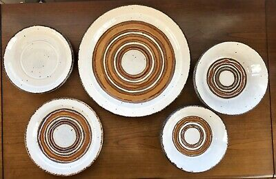 Earth by Stonehenge Midwinter Ltd. Plates & Bowls - Lot Of 8