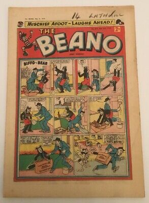 The Beano comic No.876 May 2nd 1959