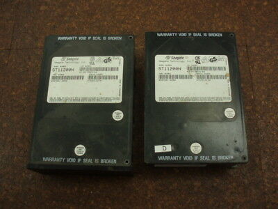 2x Vintage Seagate 50pin SCS1 hard drives