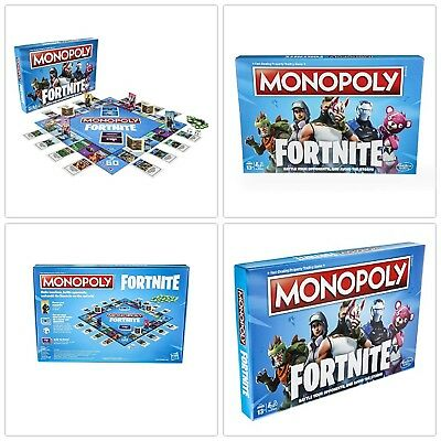 Fortnite Monopoly Board Game Hot Kids Gift Inspired by Fortnite Limited Edition