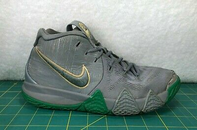 cheap for discount 1d95c cfa0a NIKE KYRIE 4 City Guardians Celtics Gray Basketball Shoes Sneakers~Boy's  Size 5Y