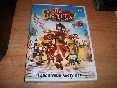The Pirates! Band of Misfits (DVD, 2012) Includes Mini Movie Kids Comedy NEW