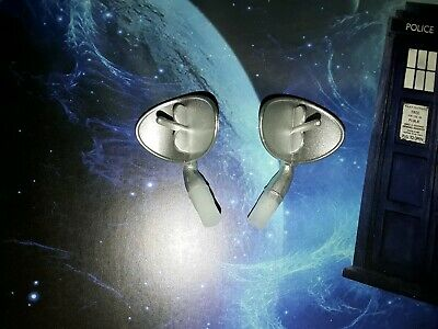 """2 x DOCTOR WHO K9 K-9 EARS PAIR FOR 15"""" LARGE REMOTE RADIO CONTROLLED SPARES SET"""