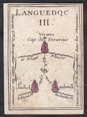 Languedoc Frankreich France carte a jouer cards playing card cartes Spielkarte