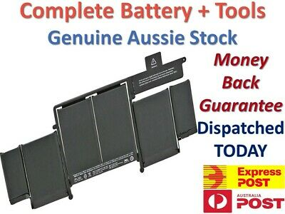 """A1493 A1502 Battery For Macbook Pro 13"""" Retina 2013 & 2014 - OEM Aussie Stock"""