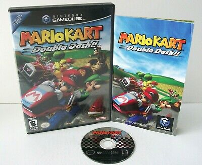 Mario Kart: Double Dash (Nintendo GameCube) Game & Case Not For Resale Tested
