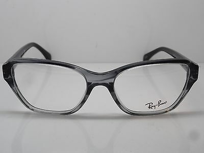 609b9cdde9a NEW Authentic Ray Ban RB 5341 5571 Striped Grey Gradient 53mm RX Eyeglasses