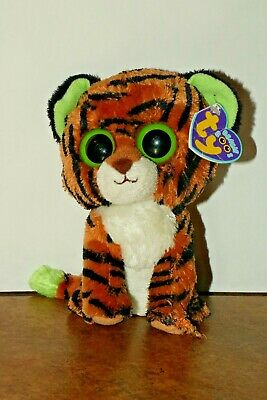 189cb176be7 TY BEANIE BOO Tiger named Stripes with Purple Tag -  6.00