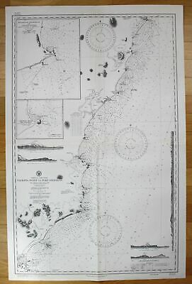 1944 Australia - East Coast - Tacking Point to Port Stephens Australien map