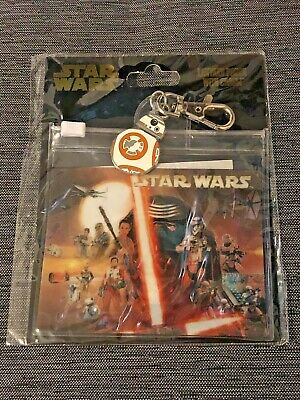 Disney Star Wars The Force Awakens Lanyard Pouch with BB-8 Charm Pin