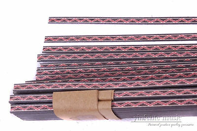 25 strip Guitar Luthier Purfling Binding Marquetry INLAY 640x5x1.0mm #79g
