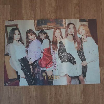 [Poster Only] (G)I-dle I Made 2nd Mini Album Unfolded Hard Tube Packing