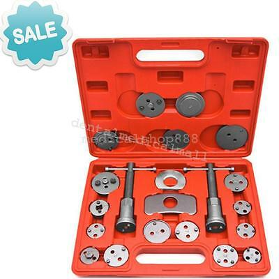 21 Pcs Car Truck Tool Kit Disc Brake Caliper Piston Rewind Wind Back Steel+ Case