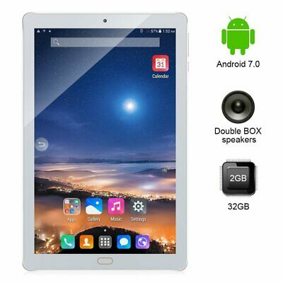 Tablet 10,1 Pollici 3G Octa Core Gps 2Gb Ram 32Gb Rom Android 7 Dual Sim Ips Tf