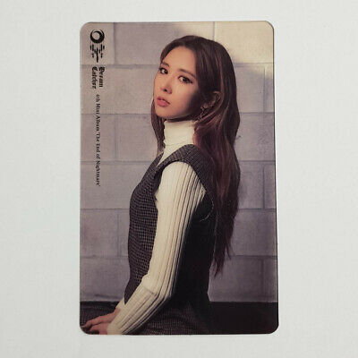 Yoohyeon Official Clear Photocard Dream Catcher 4th Mini The End of Nightmare